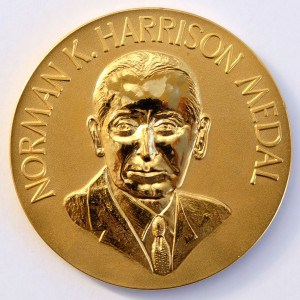 The Norman K Harrison medal