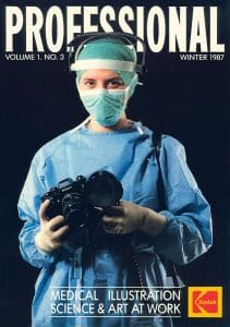 Medical Photography in the 1980s 'Professional' Cover 1987
