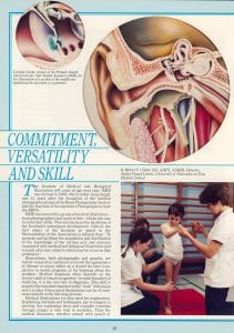 medical photography in the 1980s 'Professional' page 16